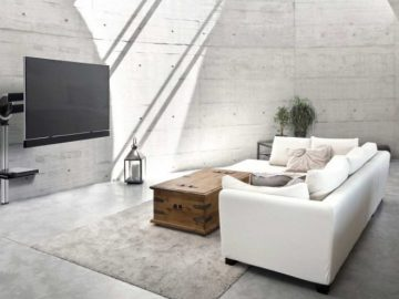 fixation murale tv orientable